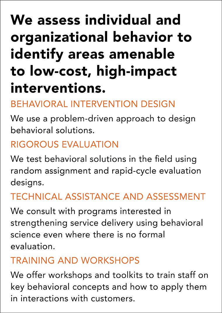 Center For Applied Behavioral Science Mdrc
