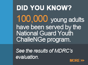 100,000 young adults have been served by the National Guard Youth ChalleNGe program.