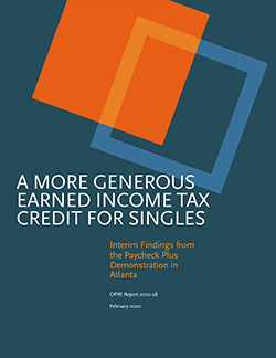 Report Cover - A More Generous Earned Income Tax Credit for Singles